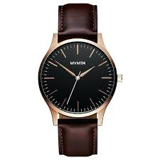 mens leather watches under 100