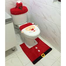 toilet seat cover and rug