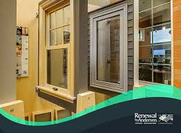 of casement and double hung windows