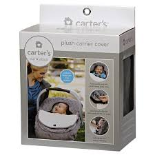 carters plush carrier cover