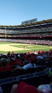 Angel Stadium Section F109 Home Of Los Angeles Angels Of