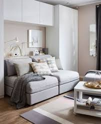 office guest room. A GIF Shows The Transformation Of Sofa To Bed In This Combination Living Room, Guest Bedroom, Office And Dining Room - Great Ideas For Our Basement