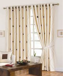 modern living room curtain