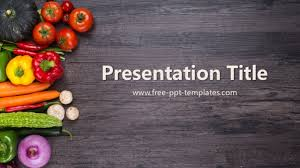 Powerpoint Templates Food Organic Food Ppt Template