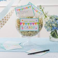 NonGame Baby Shower IdeasBaby Shower Advice Ideas