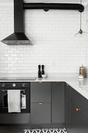 Grey Kitchen With Copper Handles Kitchen Pinterest Gray - Kitchens and more