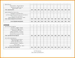 Sample Budget For Non Profit Organization Annual Non Profit Budget Template Templates Individual Home