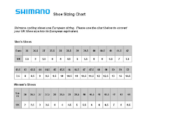 Shimano Shoe Size Chart Mens Shoe Size Chart For You Printable Shelter