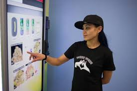 Zazzz Vending Machine Unique The International Examiner Marijuana Vending Machine Makes Debut