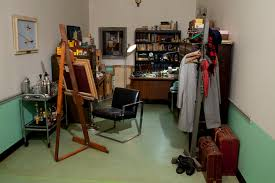 Dions home office Neginegolestan Curator Artnews The Curator Vanishes Period Room As Crime Scene artnews