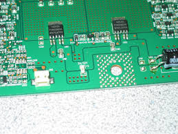 tv backlight inverter board. as can be sen from the picture fuse is 3a/32v and driving two power transistors, each of which in turn drives a transformer on board (well tv backlight inverter 3