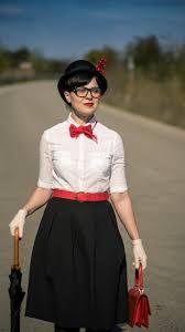 easy diy costume mary poppins white shirt terranova black midi skirt h m black flats h m
