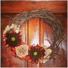 Fall Wreath Diy Fall Wreaths Life Is Sweet As A Peach