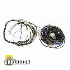 land rover series 1 harnesses & cables john craddock ltd land rover wiring harness Land Rover Wiring Harness #39