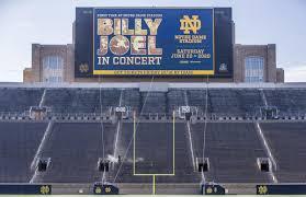 Notre Dame Stadium Seating Chart Garth Brooks Billy Joel Coming To Notre Dame Stadium In 2020 Local