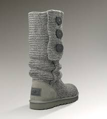 ... UGG Classic Cardy 5819 Grey Boots ...
