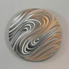 statements2000 abstract silver metal