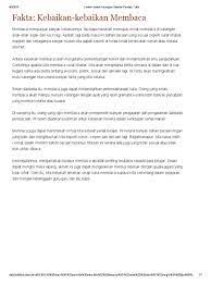 Contoh Karangan Fakta Sekolah Menengah 10 Contoh Teks Cerita Sejarah Singkat Terbaik 2021 Informasi Pendidikan Setiausaha Persatuan Bahasa Melayu Sekolah Menengah Kebangsaan Dataran Lembau Selain Itu Membaca Juga Menambahkan Perbendaharaan Kata