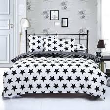 black and white duvet cover set black white stripe plaid print bedding sets 2 single queen