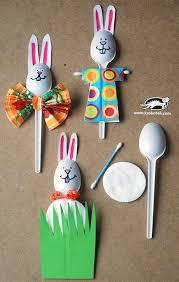 plastic spoon easter decor craft yet useful diy