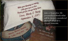 Personalized Throws And Blankets