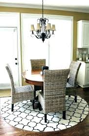 rug under dining room table yes or no carpet under dining table area rug for room