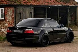 black bmw m3 e46.  Bmw BMW E46 M3 Black Widebody To Black Bmw L