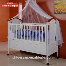 china whole wooden cradle automatic swing baby bed indoor
