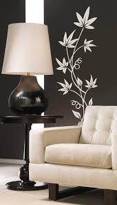 Small Picture Art Flower Leaves Vinyl Wall Decal Sticker Floral Design Decor on