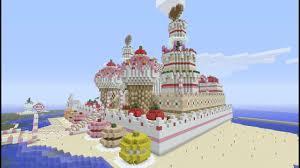 マインクラフト建築 スイーツ王国の城