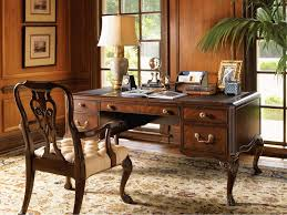 deluxe wooden home office. Office:Deluxe Home Office Desk Set Complete With Elegant Cabinet Plus Leather Tufted Chair Deluxe Wooden X