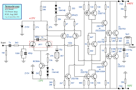 the armstrong 700 series page 2 sma20 gif 26kb the above image shows the circuit diagram of the power amplifier