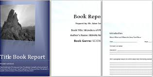 report template for word ms word elementary book report template word excel templates