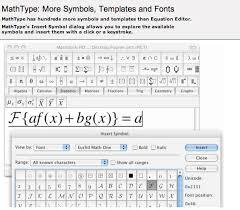 more symbols templates and fonts
