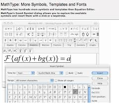 more symbols templates and fonts