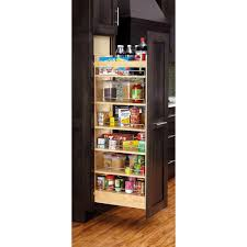 rev a shelf 50 75 in h x 8 in w x 22 in d pull out wood tall cabinet pantry 448 tp51 8 1 the home depot