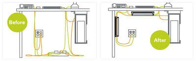 desk cable organizer cable management best desk cable management