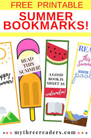 I love how a book can take you to another download and color in these free printable unicorn bookmarks for kids! Free Printable Summer Bookmarks To Color Take Action On Reading Summer Slide