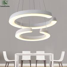 household lighting fixtures. Aliexpress.com : Buy Modern 2 Acrylic Circle Rings Led Chandelier Lustre Luminaria Lighting Pendant Fixtures Household From Reliable M