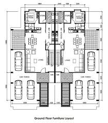 Mesmerizing Semi Detached House Plans 76 About Remodel Home Decor Ideas  with Semi Detached House Plans