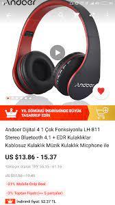 AliExpress kablosuz kulaklık tavsiye
