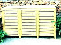 garbage can storage plans trash can bin storage outdoor garbage storage outdoor garbage can storage bin