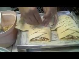 Cara Melipat Kepangan Banana Strudel Paling Simple Youtube