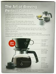 Coffee Maker Carafe And Single Cup Amazoncom Melitta Coffee Maker 6 Cup Pour Over Brewer With
