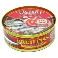 <b>5 Морей Килька</b> обж. т/с, 0,24 кг - Ашан супермаркет - Акционные ...