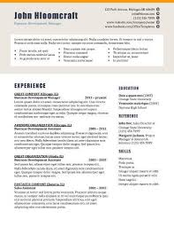 Splash Page Resume Template