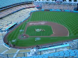 Dodger Stadium Seating Chart With Rows Dodger Stadium Top Deck 12 Rateyourseats Com