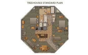 tree house plans for adults. Disney Treehouse Villas Floor Plan | Michael Tree House Plans For Adults
