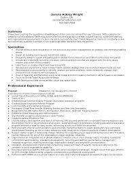 Job Recruiter Resume Resume Web