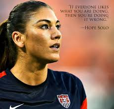 Motivational Quotes Female Athletes Custom Strong Women Hope Solo Ershler International